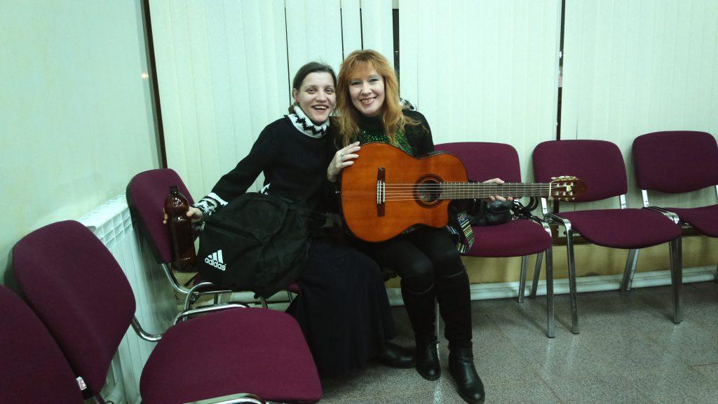 Аннета Руж и Надя